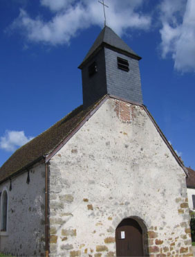 Eglise Saint Hubert de La Charmée - Lailly