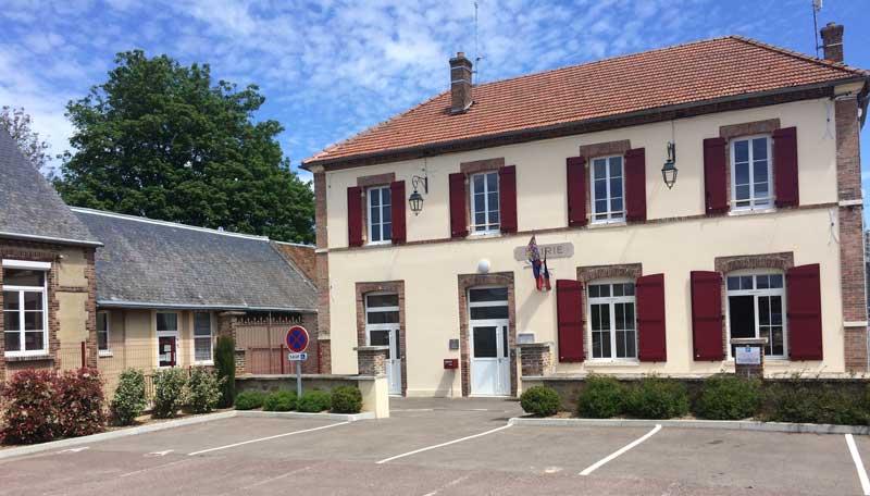 Mairie de Saint-Maurice aux Riches Hommes
