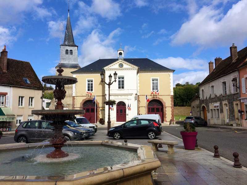 Mairie de Cerisiers